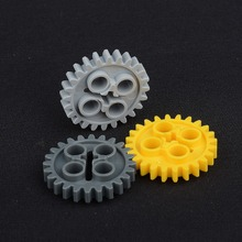 PART 24505 Technic Gear 24 Tooth [New Style with Single Axle Hole][Type 2] 3648 MOC LegoINGlys(China)