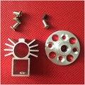1 unids/lote Rc Motor Sin Escobillas Monta Montaje Del Motor Para 22 motor sin escobillas Serie Con Tornillo de Metal