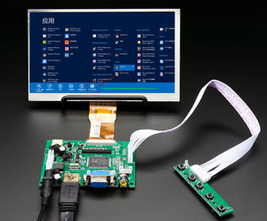 7inch HD LCD Display Screen High Resolution Monitor Driver Board Control HDMI VGA For Lattepanda Raspberry Pi Banana Pi(China)