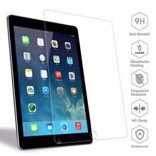 2pcs Tempered Glass for New iPad 9.7 2017 2018 A1822 A1893 A1954 Screen Protector for iPad Air 1 2 Guard Film Protector a1893 a1954 for ipad 9 7 2018 touch screen glass digitizer panel replacement for ipad 6 6th gen a1893 2018 version touchscreen
