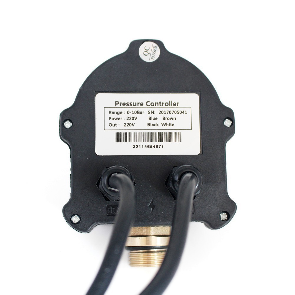 """Image 3 - Digital Pressure Control Switch WPC 10,Digital Display WPC 10 Eletronic Pressure Controller for Water Pump With G1/2"""" AdapterPumps   -"""