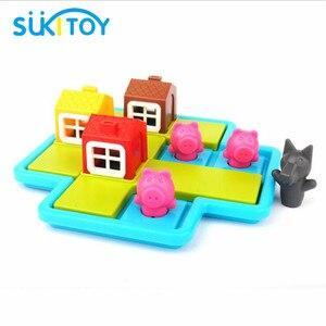 Image 3 - הסתר & Seek 48 ילדי מונטסורי החינוכי רך צעצועי הכשרת IQ אתגר ופתרון צעצועים אינטראקטיביים יצירתיים אינטליגנטית