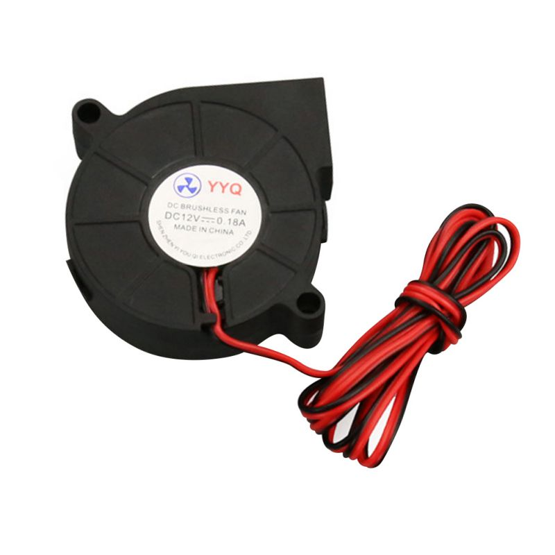 1Pc 12V DC 50mm Blow Radial Cooling Fan Hotend Extruder For RepRap 3D Printer Hotend Extruder A57 cloud nine radial blow drying brush