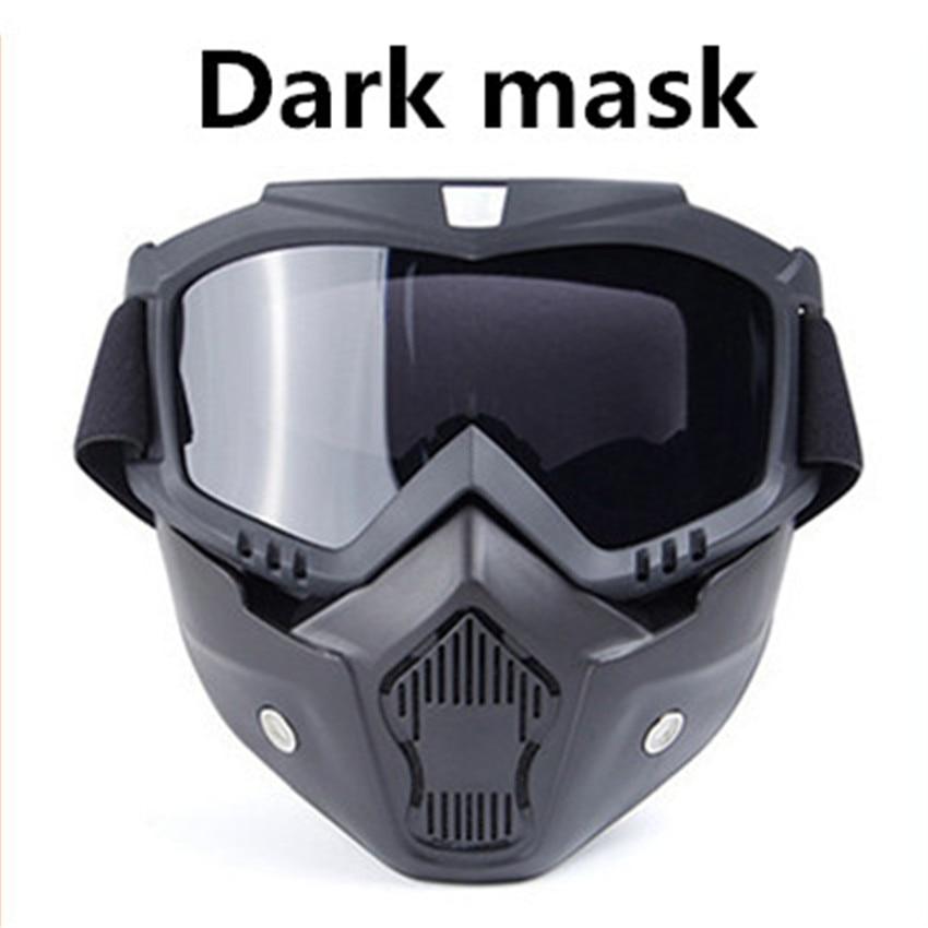 2018 hot vintage motorcycle helmet goggles motocross. Black Bedroom Furniture Sets. Home Design Ideas