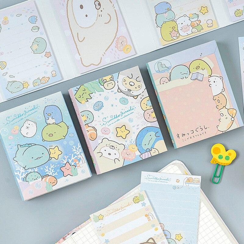 Sumikko Gurashi Folding Sticky Notes Memo Pad New