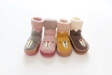 Newborn Baby Socks New Winter Autumn Children Kids Boys Girls Rubber Sole Socks Meias Infantil Antislip Slippers Newbron Clothes