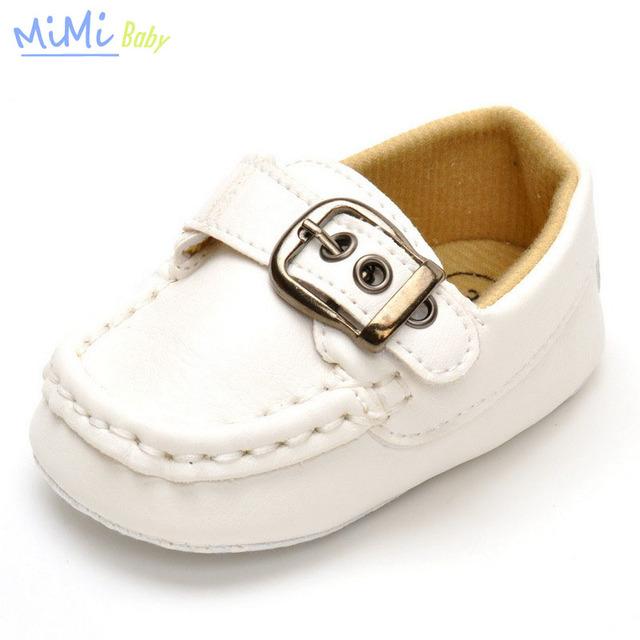 2017 A Nova Primavera e Outono Sapatos de Bebê Fundo Macio Masculino Cortical do bebê Aprender A Passo Sapatos Primeiros Walkers Infantil Menino Tênis