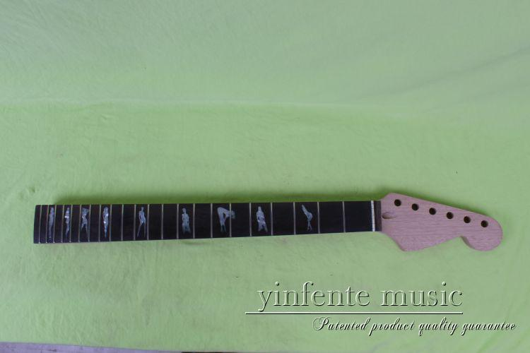 NEW Unfinished electric guitar neck Mahogany & RosewoodFINGERBOARD 6# new