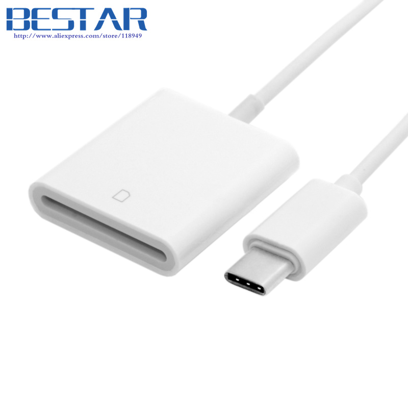 USB 3.1 Type C USB-C to SD SDXC Card Reader Adapter for Macbook & Cell Phone & Samsung Note 7 668 usb 3 1 type c card reader