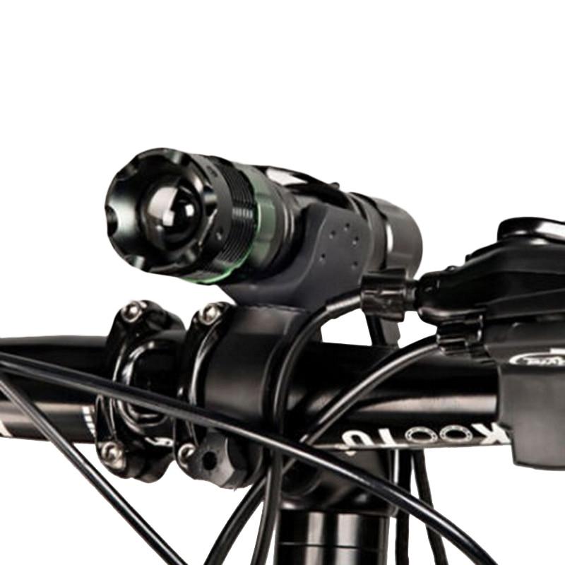 Frente de la bicicleta de luz cree q5 led de la antorcha 300 lm 3 modos con titu