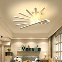 2017 New Style Nordic Living Room Dimmable LED Ceiling Lamp Post Modern Creative Bedroom Restaurant Aluminum