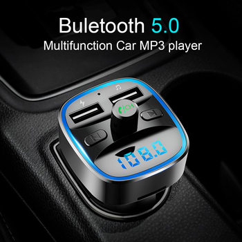 CDEN car mp3 player Bluetooth 5.0 receiver FM transmitter Dual USB car charger U disk TF card Interior Accessories