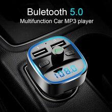 CDEN Автомобильный mp3 музыкальный плеер Bluetooth 5,0 ресивер FM-передатчик двойной зарядное устройство USB U диск/TF карта lossless музыкальный плеер