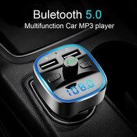CDEN auto lettore mp3 Bluetooth 5.0 ricevitore trasmettitore FM caricabatteria da auto Dual USB U disco carta di TF Accessori Interni