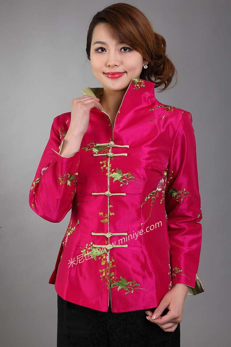 Online Get Cheap Pink Ladies Satin Jacket -Aliexpress.com