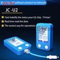 WOZNIAK JC U2 Tristar Tester Detector Rápido para iPhone U2 IC Carga Falha Tester Rápido SN Serial Número Detector Rápido leitor