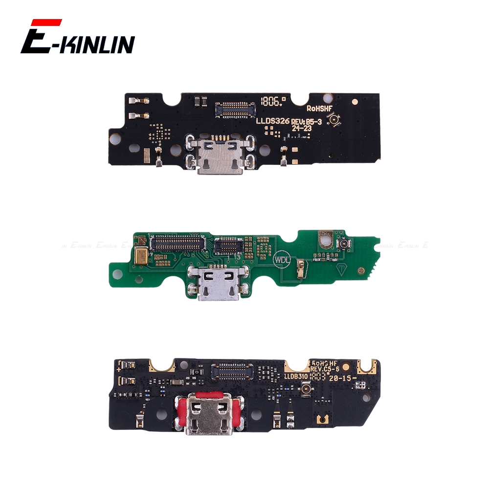 Power Charger Dock USB Charging Port Plug Board With Mic Flex Cable For Motorola Moto P30 Note One Power G6 Play G5 E5 Plus
