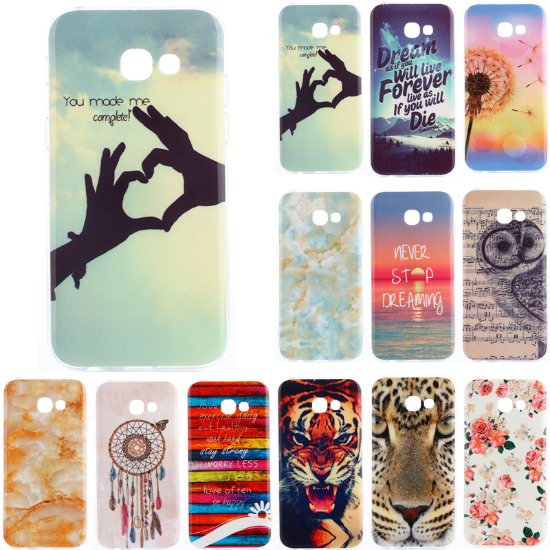 the latest e7ead 333aa US $29.8 |20Pcs/ Lot For Samsung A5 2017 Case Cartoon Soft Silicon TPU Gel  Back Cover Phone Case for Samsung Galaxy A5 2017 A520 A520f-in Fitted Cases  ...