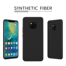 For Huawei Mate 20 pro Case Cover Synthetic Fiber Phone Case For Huawei Mate 20 pro NILLKIN Hard Cover High Quality Case nillkin белый huawei mate 10