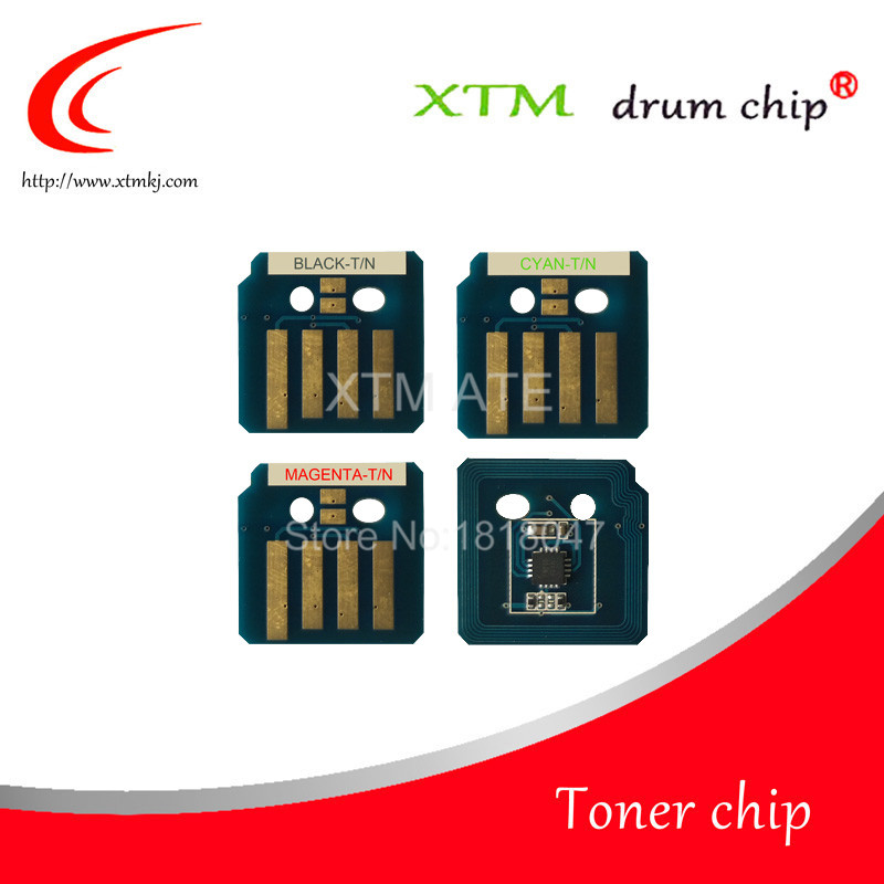106R01573 106R01570 106R01571 106R01572 toner chip replacement for Xerox Phaser 7800 refill powder laser printer