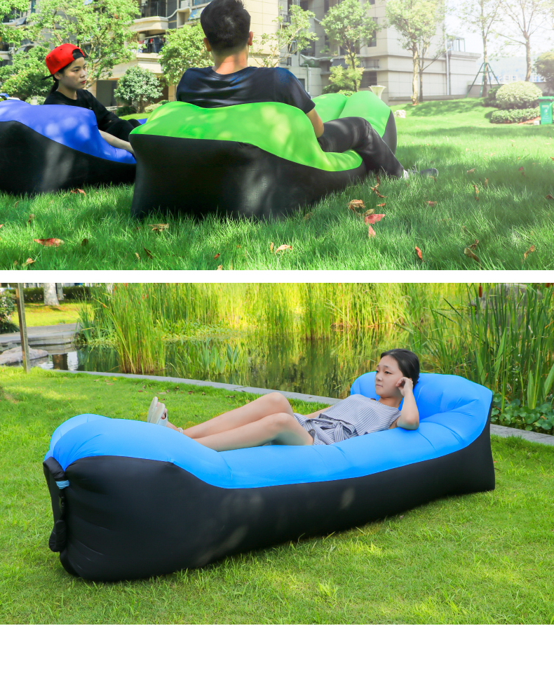 Inflatable Lawn Chair Mid Century Recliner Uk Modern Home Air Furniture Foldable Gas Lazy Sofa Bed Sunshine Beach Camping Bag Lay Sleeping Fast Lounge Banana Laybag