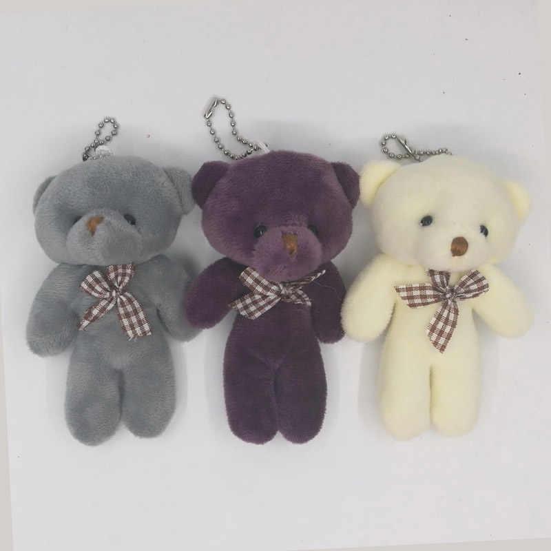 Классический бант-узел плюшевый медведь кукла милый Мишка Тедди Подвески любимый детский одежда с изображением мишки мягкие подвесные игрушки