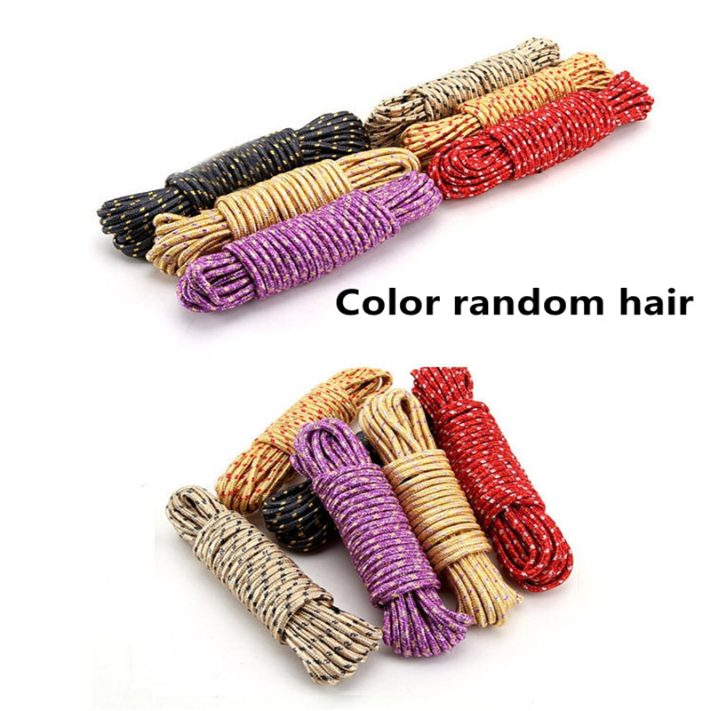 Línea de ropa antideslizante y cortavientos de nailon espesado - Organización y almacenamiento en la casa