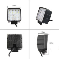 48W LED Work Light For Indicators Motorcycle Driving Offroad Boat Car Tractor Truck 4x4 SUV ATV
