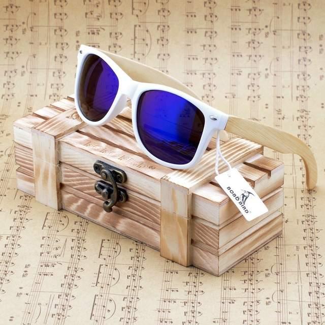 ca20f3319e0b3 placeholder BOBO PÁSSARO Das Mulheres Dos Homens De Madeira De Bambu Óculos  de Sol Branco do Quadro