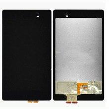 Original novo painel de toque para tablet asus nexus 7 2nd geração 2013 tablet tela lcd w/digitador assembléia 5 pcs/1 lote