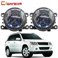 Cawanerl 100W Car Halogen Fog Light DRL Daytime Running Lamp For Suzuki Grand Vitara 2 / II Closed Off Road Vehicle JT 2005 2015
