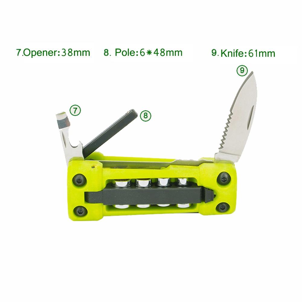 Nuevas herramientas plegables de metal multifunción Jakemy 17 en 1 - Juegos de herramientas - foto 6