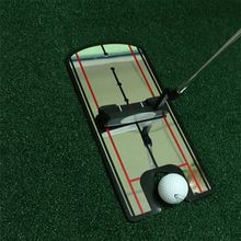 OOTDTY Golf Putting Mirror Training Eyeline Posture Correction Swing Practice Trainer Alignment Aid