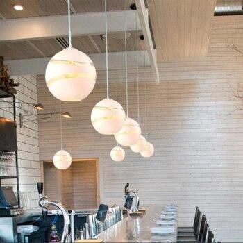 Style Nordique Moderne Globe Rétro Boule Bulle Pendentif Lumières Café Bar Magasin Restaurant Salle à Manger Salle Club Pendentif Lampes Suspendues