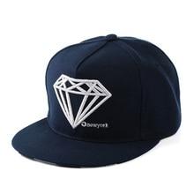 Casquette Diamond Pattern Jean Hat Adjustable Baseball Caps Hip Hop Hat for Men Denim Snapback Sport Women Sun Cap