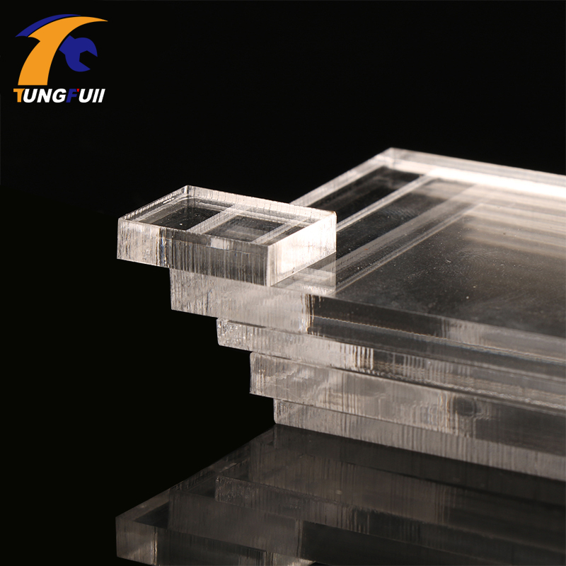 TUNGFULL 5mm Acrylic Thickness Clear Perspex Sheet Cut Plastic Transparent Board Perspex Panel Doors And Windows Decor Durable