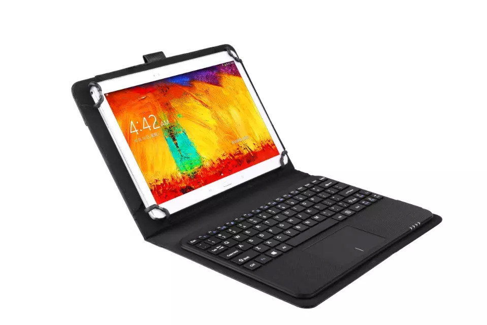 Galaxy Note 10.1 GT-N8000 N8010 үшін Touchpad + PU былғары - Планшеттік керек-жарақтар - фото 5