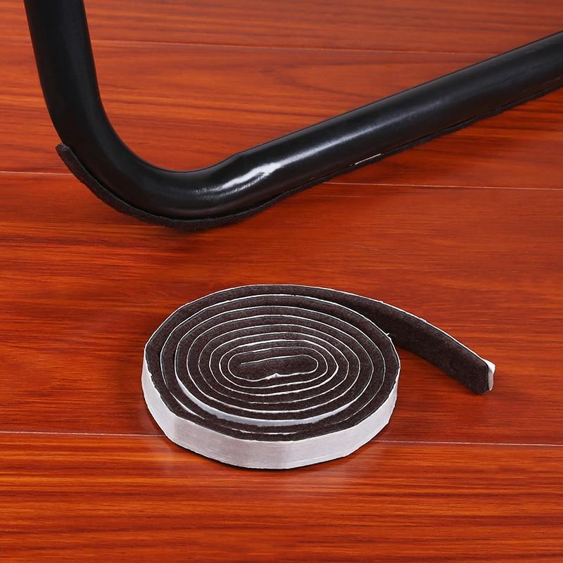 Furniture Mat Table Chair Cabinet Sofa Furniture Leg Felt Mat Floor Protector Self-adhesive Non-slip Noise Prevention Bow Type