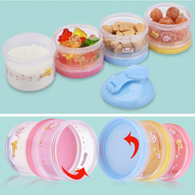 Cartoon Portable Baby Milk Storage