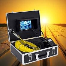 Высокое качество 7 дюймов монитор 20 м Стекловолоконный кабель канализационная труба Инспекционная камера система используется для подземного осмотра труб