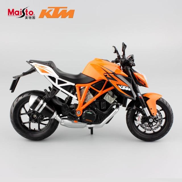 1:12 Масштаб оригинальные детские KTM1290 литья под давлением мотоцикл гоночных автомобилей миниатюрные коллекционные модели подарки для детей игрушки