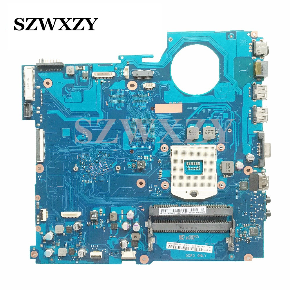 BA92 08190A For Samsung RC520 RV520 Laptop Motherboard BA92 08190B PGA989 HM65 100 working Free Shipping