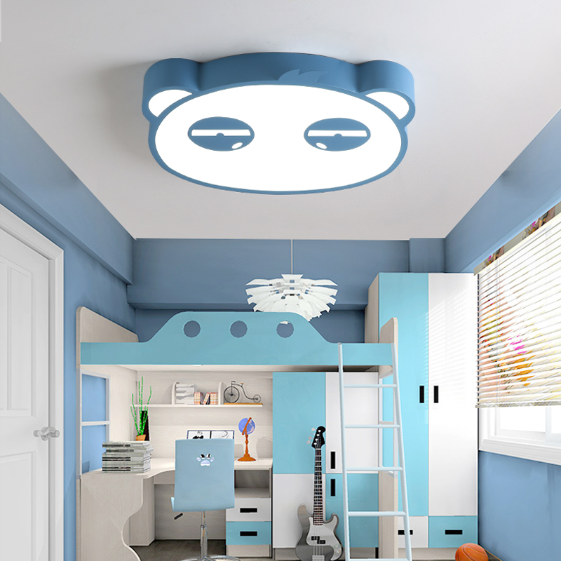 Macaroncolour Modern Cartoon LED Chandelier For Bedroom