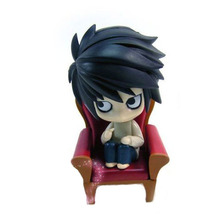 """HOT Anime Death Note 4"""" Action Figure L Lawliet PVC Dolls Model Toy Gift New in Box"""
