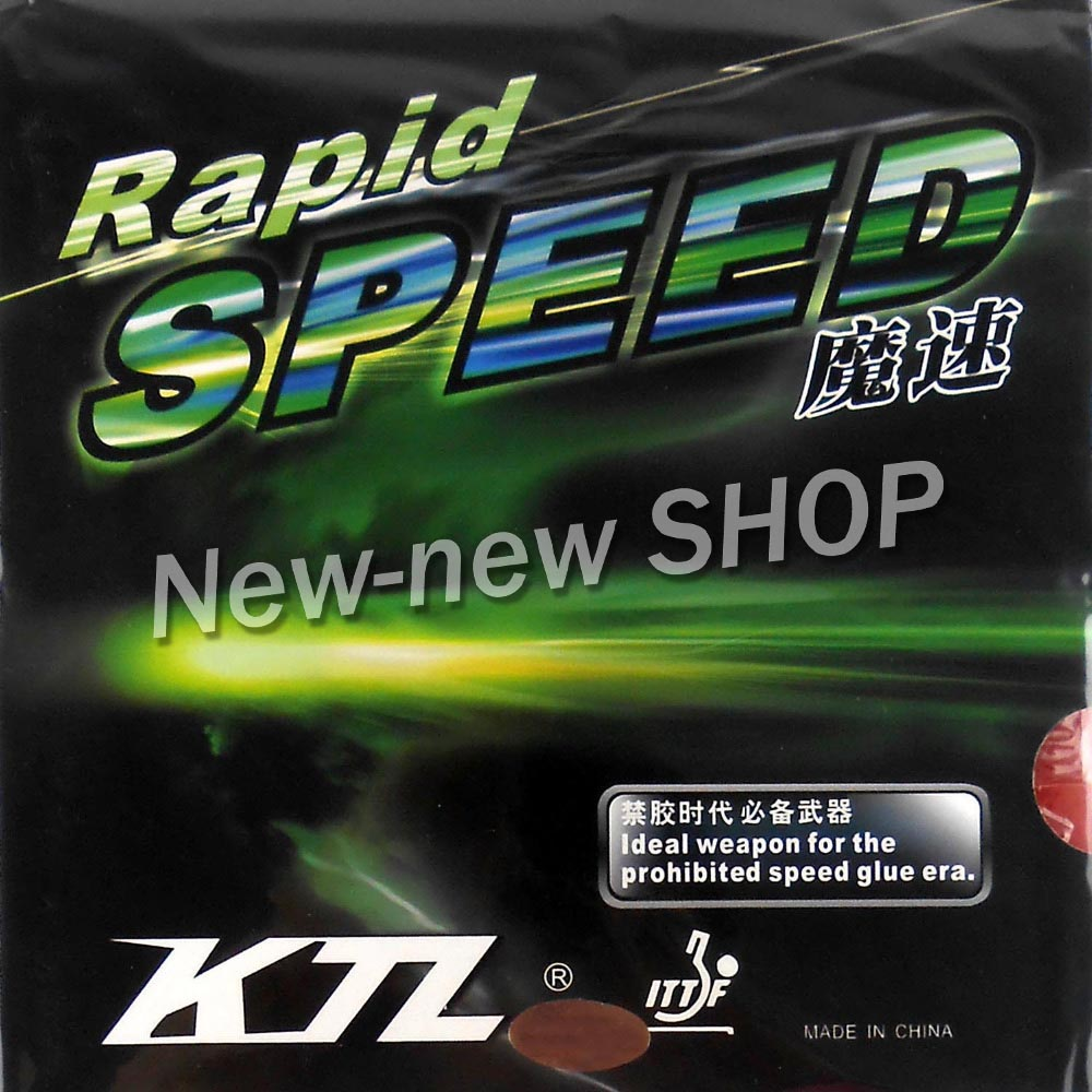 KTL Rapid SPEED Pips-In Table Tennis PingPong Rubber with Sponge drifters volume 3