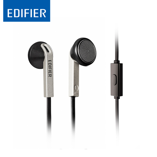 EDIFIER H190 In-Ear Earphones Dynamic sound HIFI Headset 3.5mm Aux Ergonomic design Noise Cancelling Earphone