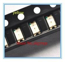 100 PCS SMD 1206 LED AMARELO Ultra Bright led Smd 1206 amarelo 1206 Diodos diodos emissores de luz-580-590nm 3.2*1.6mm