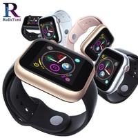 RollsTimi Casual Smart Watch Men's Waterproof Fitness Tracker Smart Wristwatch Support SIM Card Silicone Sports Clock for Women