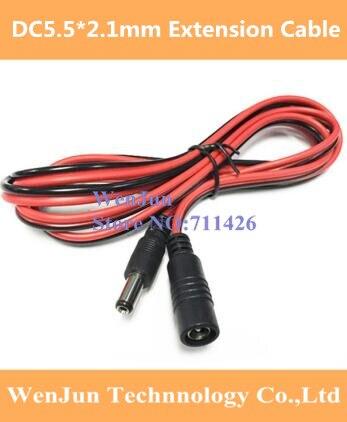 16AWG 12 V DC5.5 * 2.1mm câble d'extension DC 5.5*2.1 mâle à femelle câble 1.0mm2 fil pour surveillance/routeur/véhicule 20 pcs/lot on AliExpress - 11.11_Double 11_Singles' Day 1