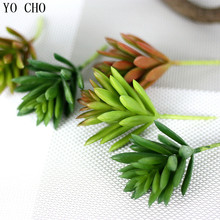cheap highquality suculentas artificiais artificial leaves fake plants artificial succulents christmas decorations for home